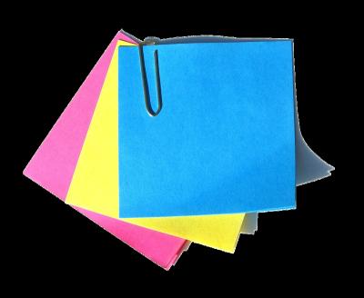 Бумага для заметок, закладки