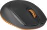 Мышь Defender Genesis MB-865 серый+оранжевый, беспроводная оптическая, 1600dpi 2