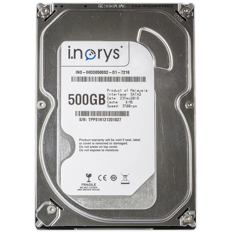 Жесткий диск HDD i.norys 500Gb SATA II 3.5