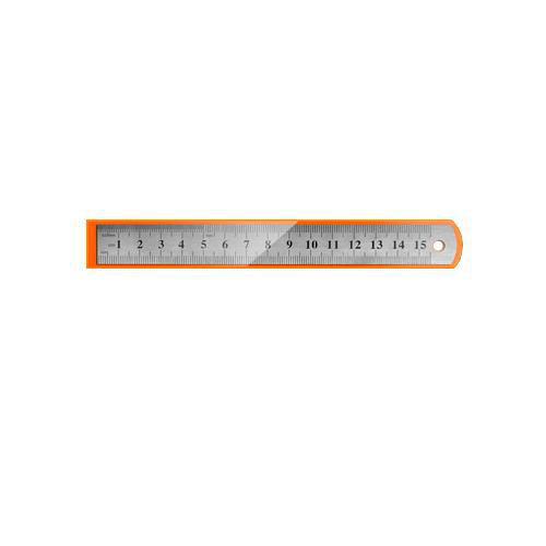 Линейка металлическая 15 см., deVente