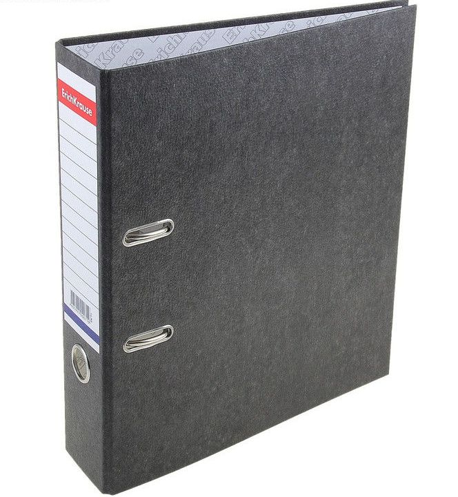 Папка-регистратор A4 70 мм, мрамор BASIC