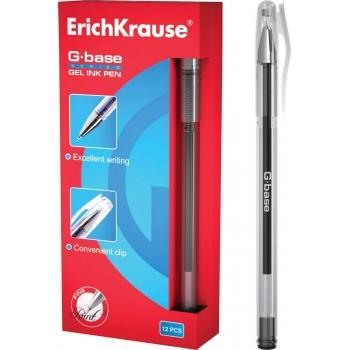 Ручка гелевая G-BASE чёрная, арт. 30936