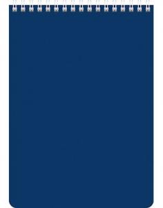 Блокнот А5 60л. на гребне синий для конференц.