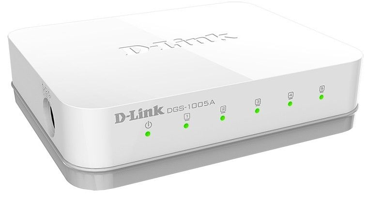 Коммутатор D-Link DGS-1005A/E1A