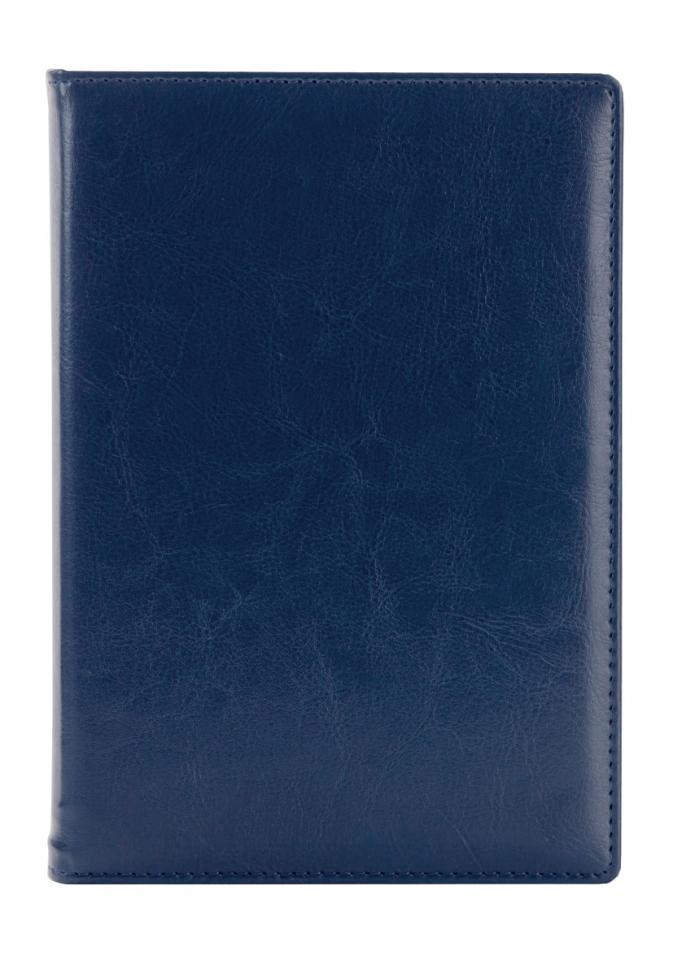 Ежедневник датированный A5 Berlin, на 2018г., 352 стр., синий
