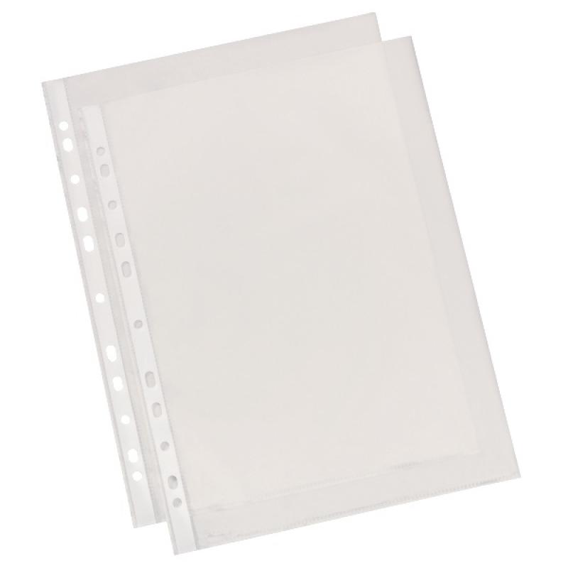 Папка карман стандарт А4 (75мкр)  50 ШТ