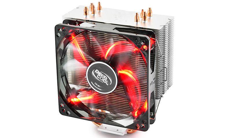 Кулер DeepCool GAMMAХХ 400 Red (DP-MCH4-GMX400RD)