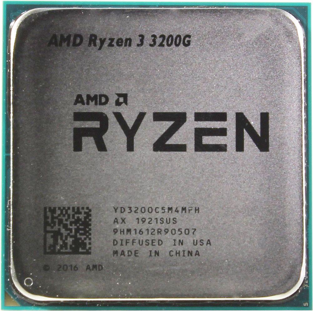 Процессор  AMD CPU Desktop Ryzen 3 3200G OEM (YD3200C5M4MFH)