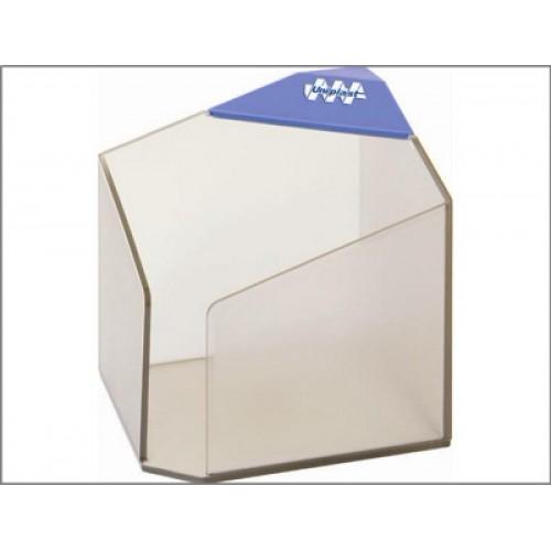 Бокс для бумажного блока Статус, прозрачный (90х90 мм)