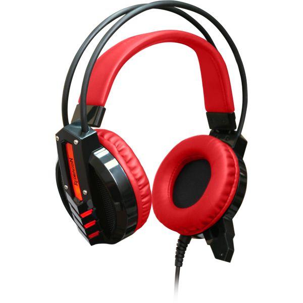 Гарнитура игровая Redragon Chronos red+black, кабель 2,2 м