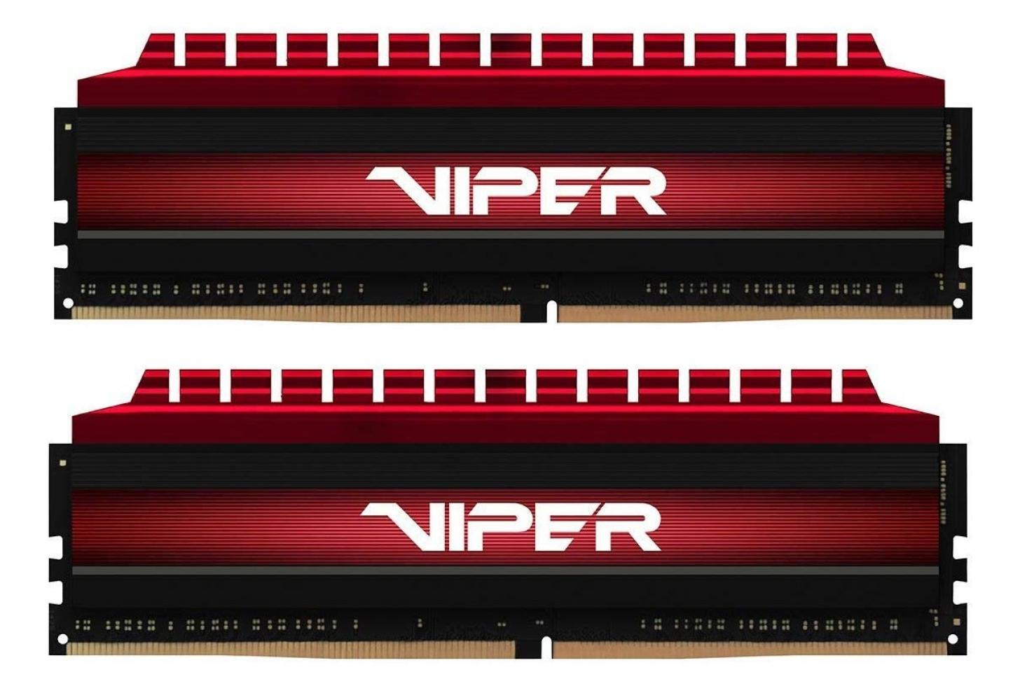 Оперативная память набор Patriot Viper 4 2x4GB DDR4 PC4-24000 (PV48G300C6K)