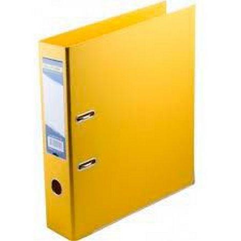 Папка-регистратор 70 мм ПВХ жёлтый
