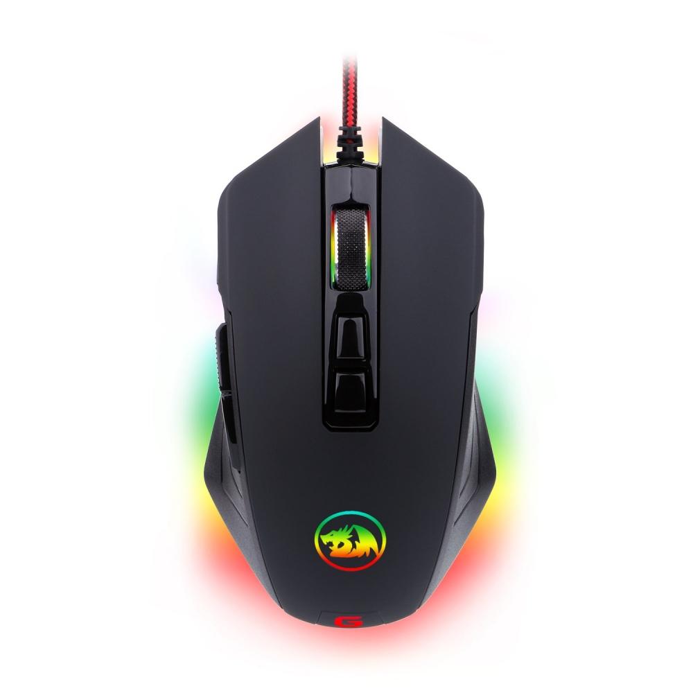 Мышь Redragon Dagger RGB проводная, игровая, 9 кнопок