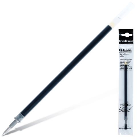 Стержень гелевый G-BASE fine 129мм/0,5 черный