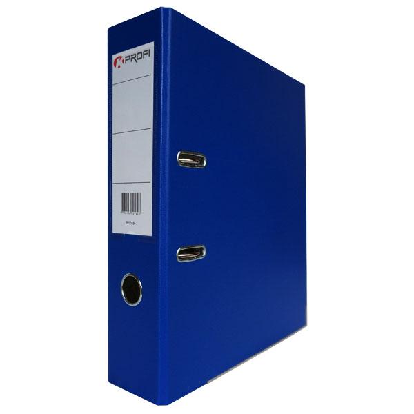 Папка-регистратор 80 мм ПВХ-ЭКО синяя
