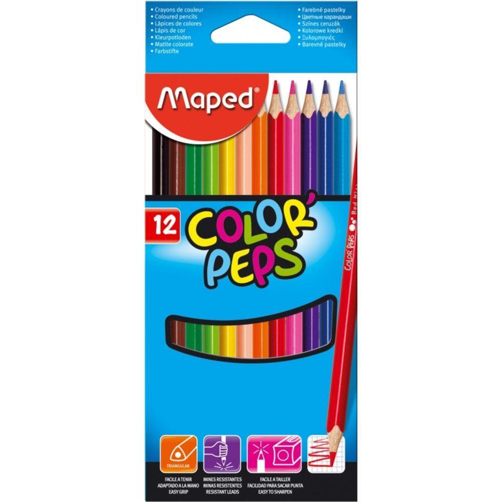 Набор цветных карандашей 12 шт.