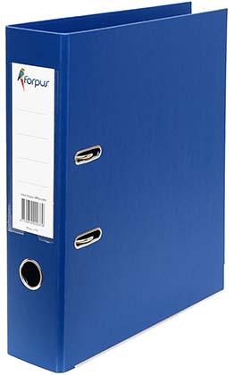 Папка-регистратор 70 мм ПВХ синий