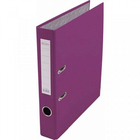 Папка-регистратор 75 мм ПВХ фиолетовый