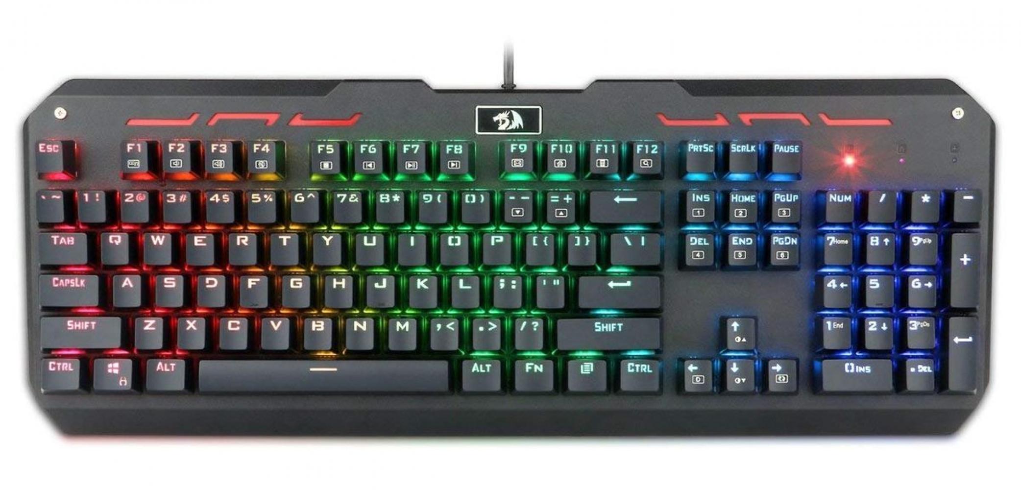 Клавиатура Redragon Varuna проводная, механическая, RU