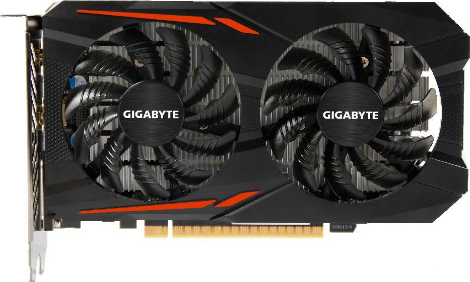 Видеокарта Gigabyte 1050Ti (4Gb) [GV-N105TOC-4GD]