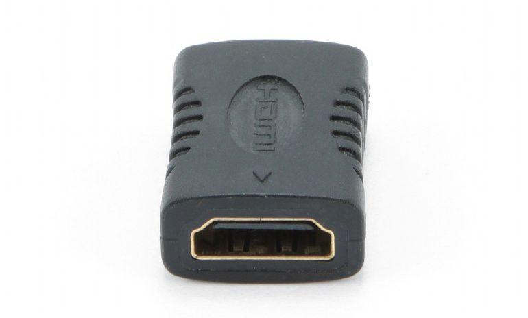 Переходник HDMI-HDMI Cablexpert A-HDMI-FF, 19F/19F,  золотые разъемы, пакет