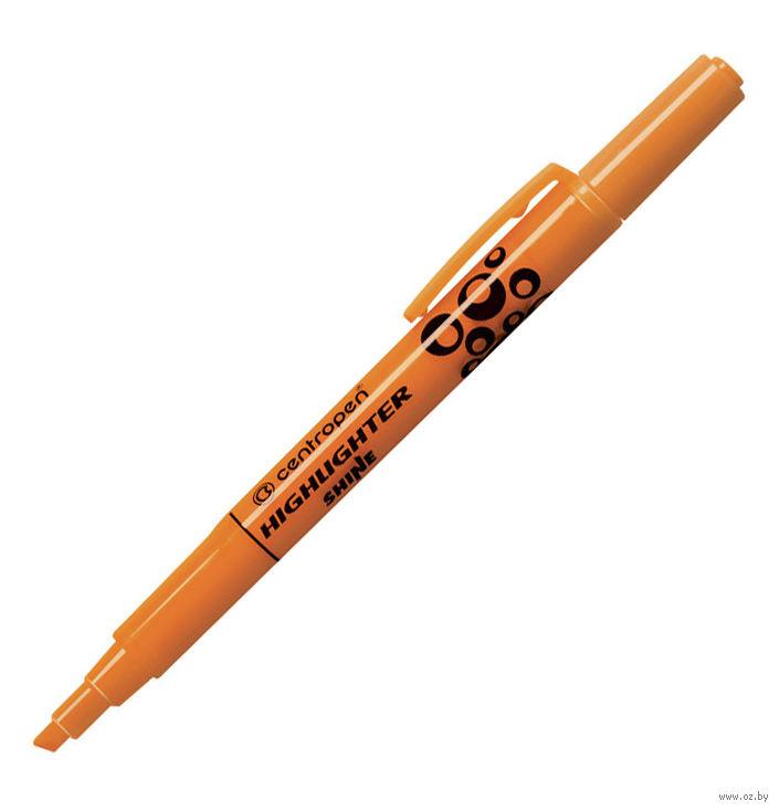 Маркер-выделитель HIGHLIGHTER Shine оранжевый