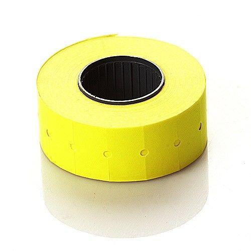 Этикетлента самоклеящаяся KJ 21х12 (желтая)