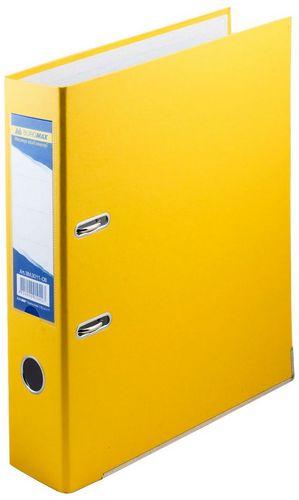 Папка-регистратор 50мм  ПВХ жёлтый