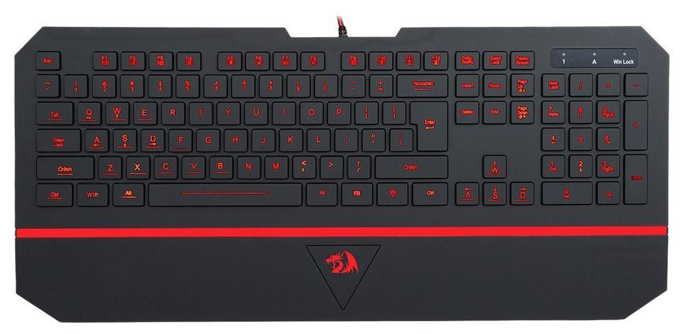 Клавиатура игровая Redragon Karura, проводная, черный
