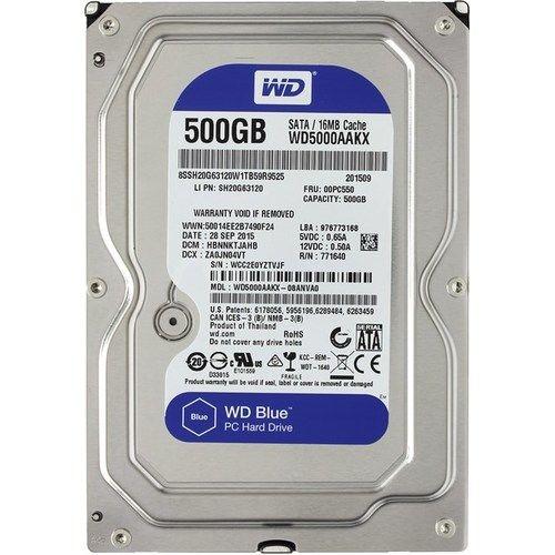 Жесткий диск HDD WD 500Gb  SATA3 3.5