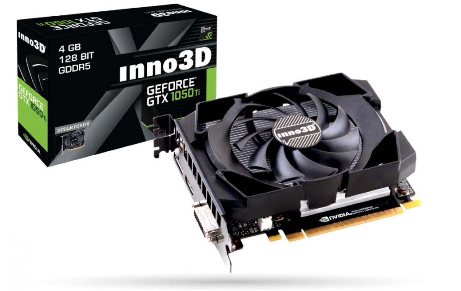 Видеокарта Inno3D GeForce GTX 1050 Ti (4Gb)