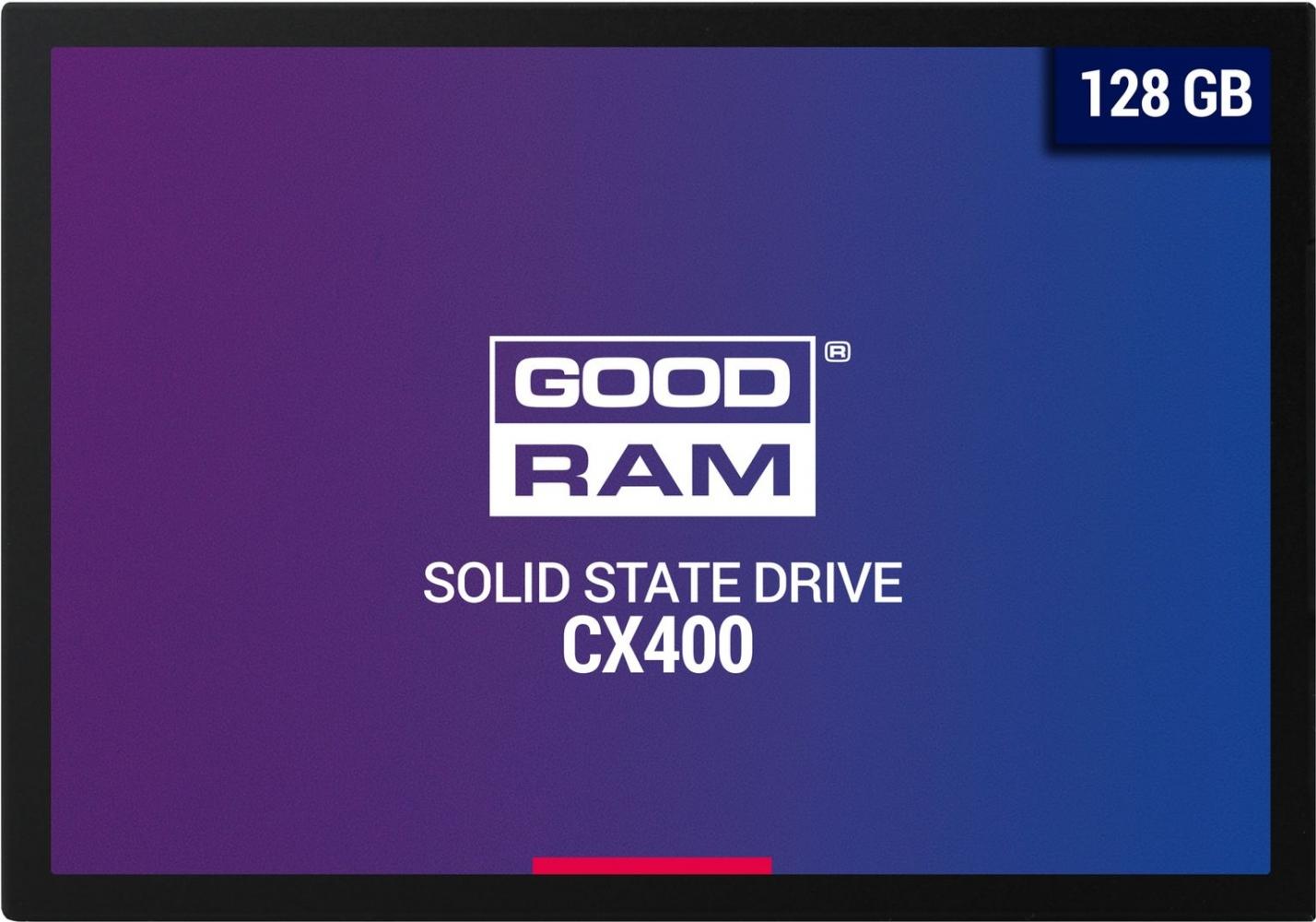 Накопитель SSD GOODRAM CX400 128GB (SSDPR-CX400-128)