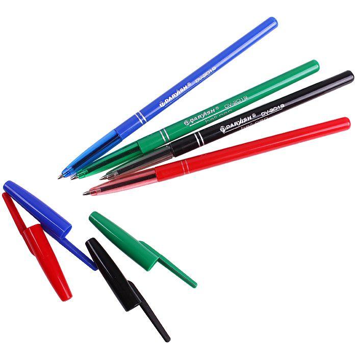 Набор шариковых ручек 4 цвета