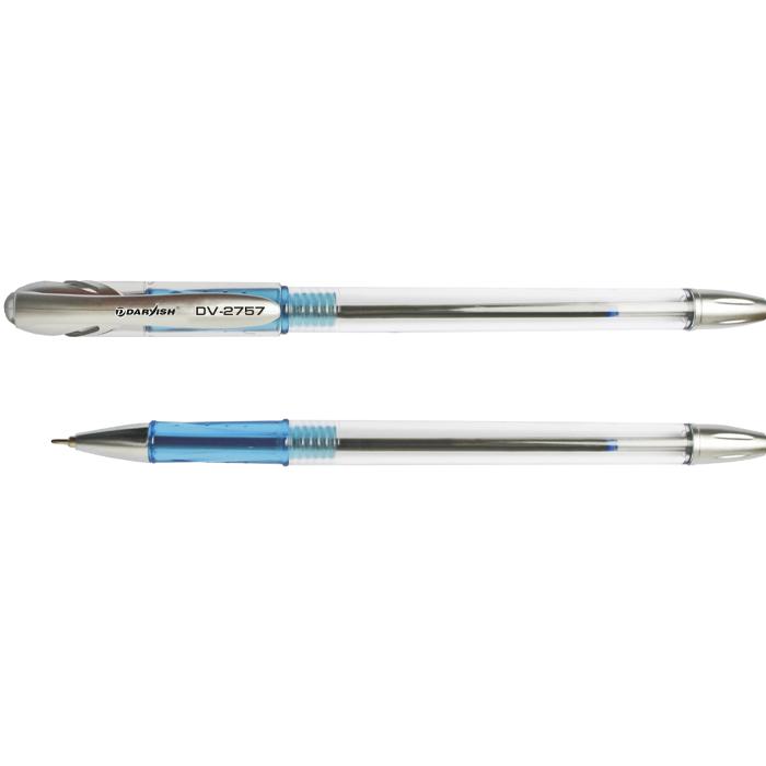 Ручка шариковая DARVISH DV-2757, синяя, на масляной основе