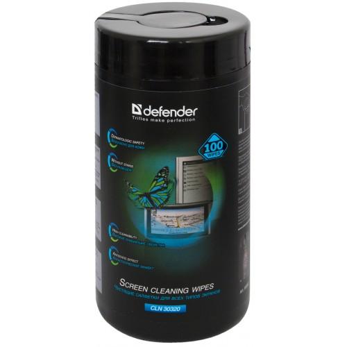 Салфетки чистящие DEFENDER ЭКО CLN30320