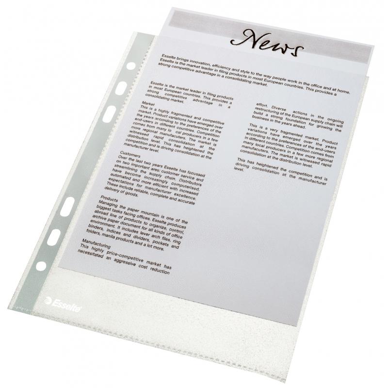 Папка карман стандарт А5 (упаковка 100 шт.)
