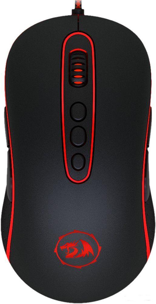 Мышь Redragon Phoenix, проводная, игровая, оптика, 11 кнопок, 4000dpi