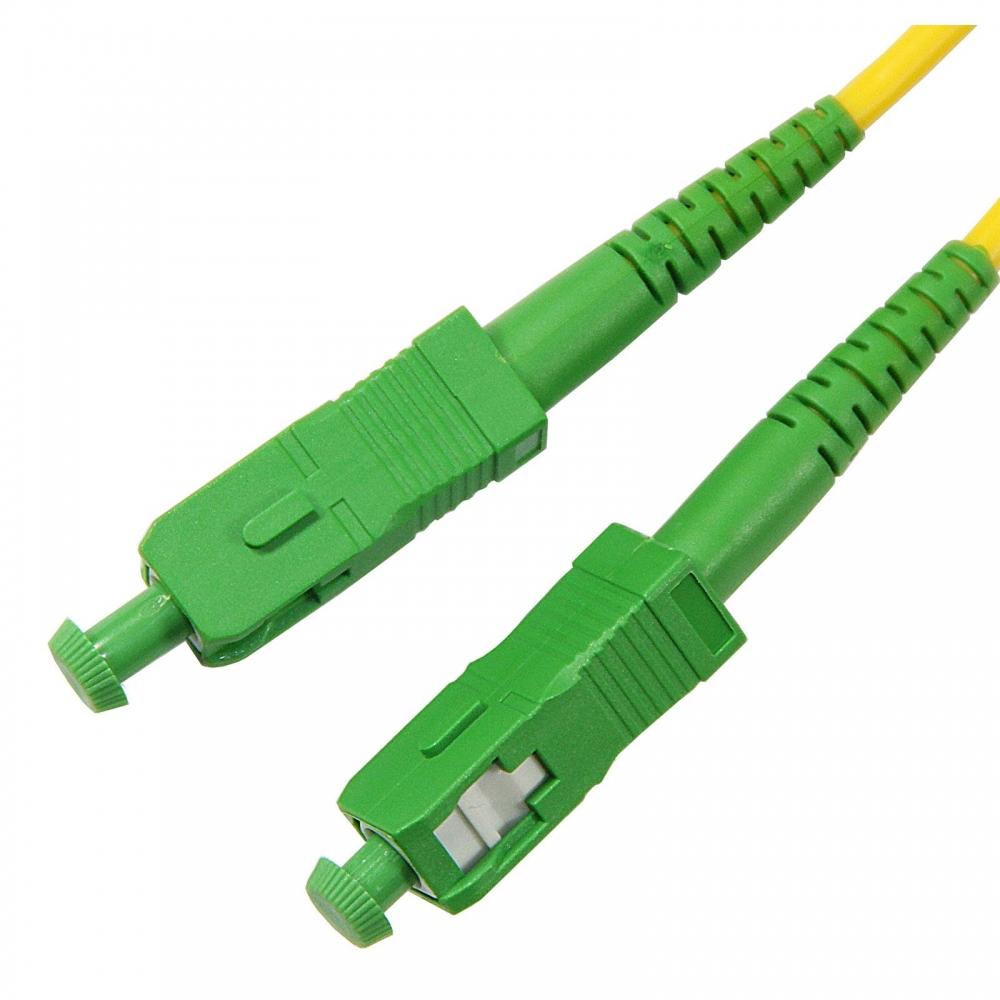Патч-корд оптический FBT SC(APC)-SC(APC) simplex 3м, 3мм, LSZH, SM (G.657)