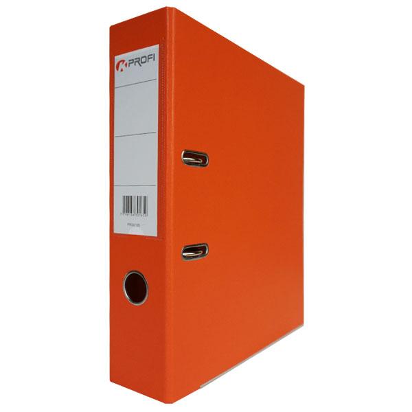 Папка-регистратор 80 мм ПВХ-ЭКО оранжевый