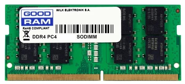 Модуль памяти GOODRAM GR2666S464L19S/4G; SODIMM DDR4 4Gb PC4-21300