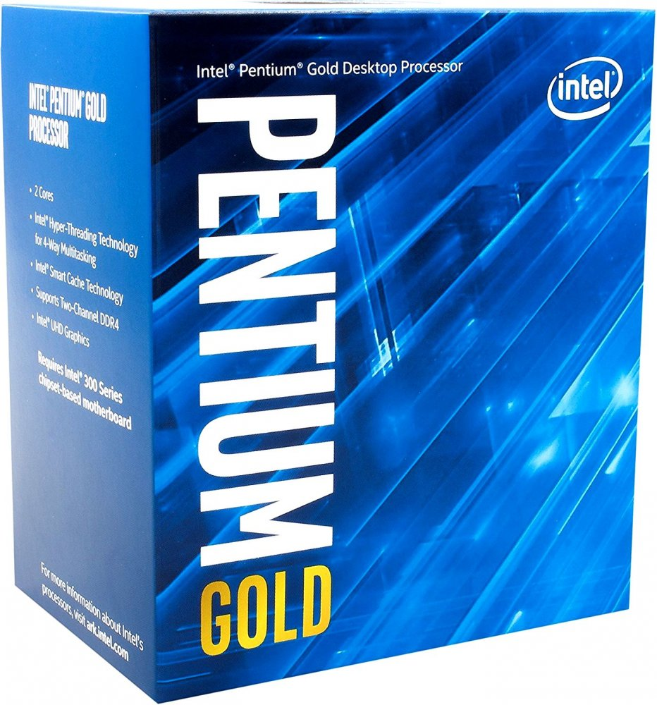Процессор LGA1151 Intel Pentium G5400 BOX 4M 3.7G BX80684G5400 S R3X9 IN