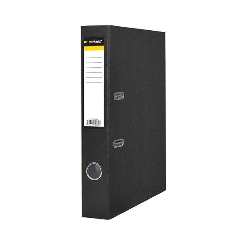 Папка-регистратор 80 мм ПВХ-ЭКО черный