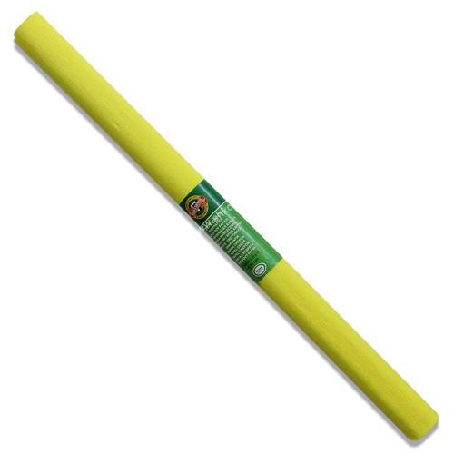 Бумага креповая для творчества, желтый (9755/10)