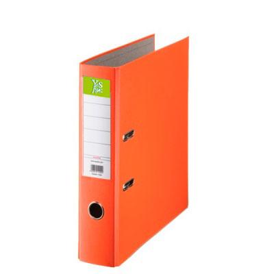 Папка-регистратор 50мм  ПВХ оранжевый