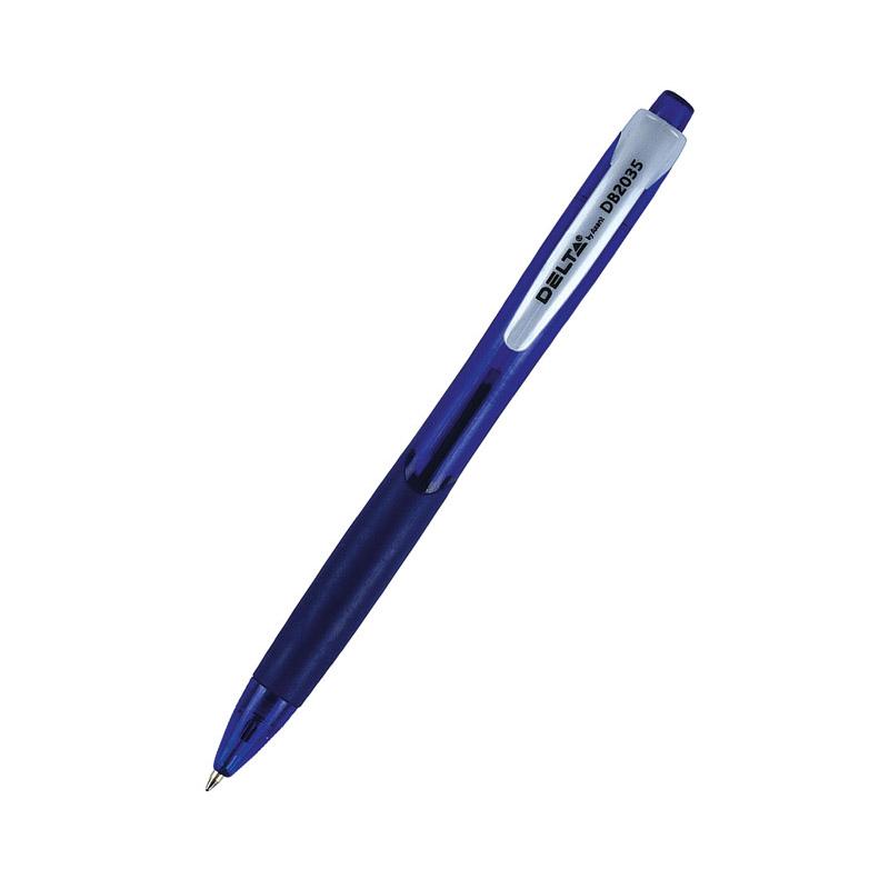 Ручка шариковая автоматическая Delta DB2035, 0,7мм, синяя