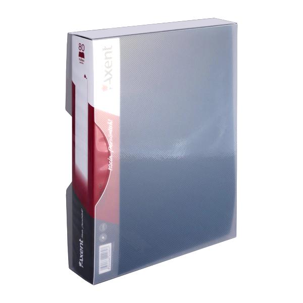 Дисплей-книга Ф4 100файлов, черная