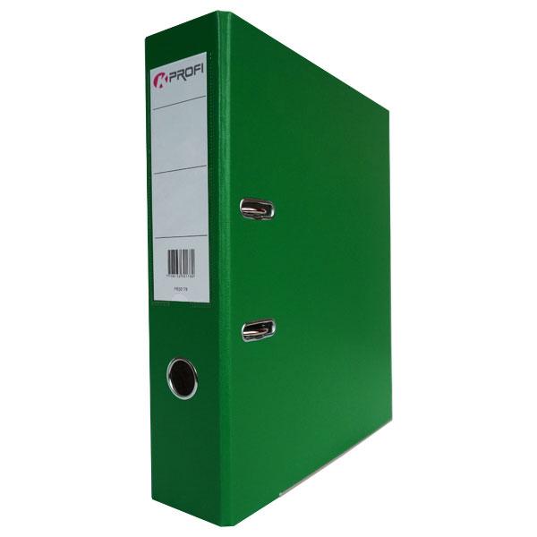 Папка-регистратор 80 мм ПВХ-ЭКО зеленая