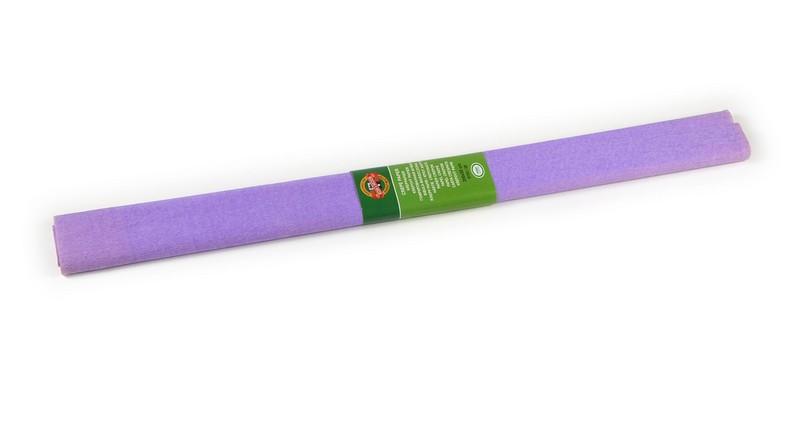Бумага гофрированная для творчества, фиолетовая