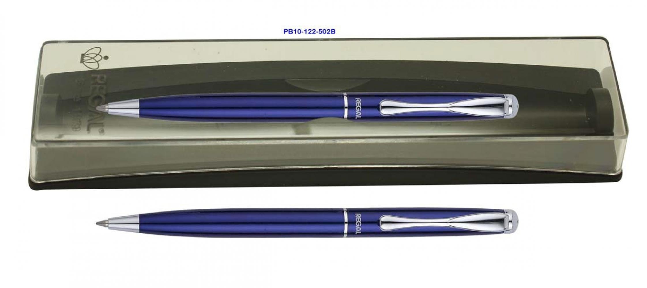 Ручка перьевая REGAL 122 в футляре, синий корпус
