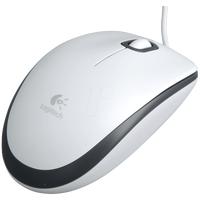 Мышь Logitech Mouse M100, белый